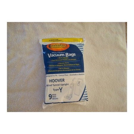 18 Hoover Windtunnel Upright Type Y Vacuum Bags By Envirocare (Micro-filtration)