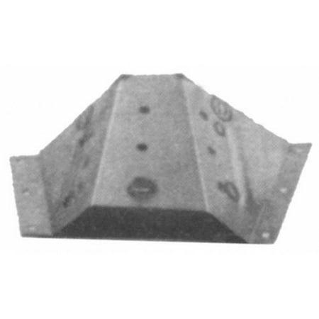 Inner Fender Apron (Goodmark Left Side Fender Apron for 67-70 Ford Mustang, Mercury)