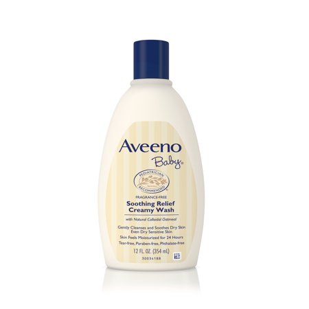 Aveeno Baby Apaise Crème nettoyante, 12 oz