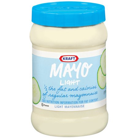 Kraft Mayo Mayonnaise Light  30 Fl Oz  Bottle