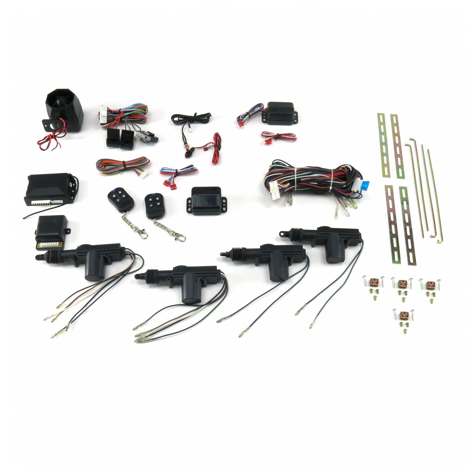 PT Cruiser Power Door Lock Kit with Alarm and Remotes mac gear 427 formula 350