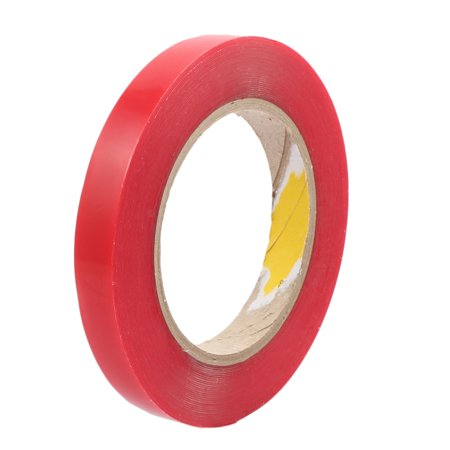 1.5cm Width 10M Length Double Sided Adhesive Tape Red for Cell Phone