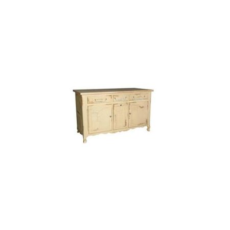6 Ft Kitchen Island W 3 Drawers Cabinets Driftwood