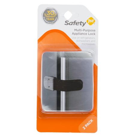 Safety 1ˢᵗ® Multi Purpose Appliance Lock (2pk), Black - Walmart.com
