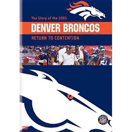 Nfl Team Fabric - NFL Team Highlights 2003-04 - Denver Broncos