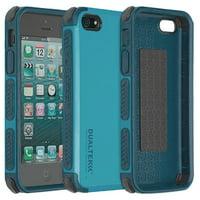iPhone 5/5s/5c/SE Case, PureGear [Caribbean Blue] Dualtek Extreme Rugged Cover for Apple iPhone SE 5 5s 5c