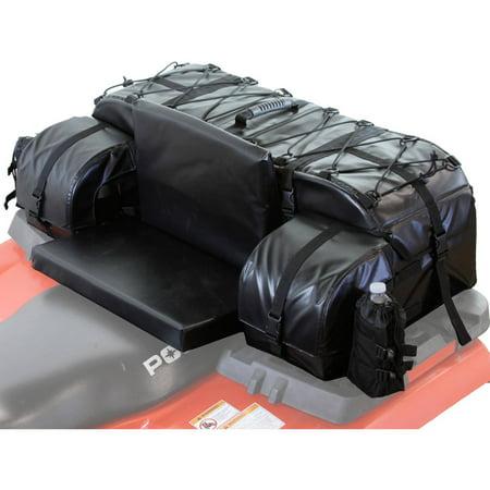 Arch Series ATV Rear Cargo Bag, Black Atv Padded Rear Cargo Bag