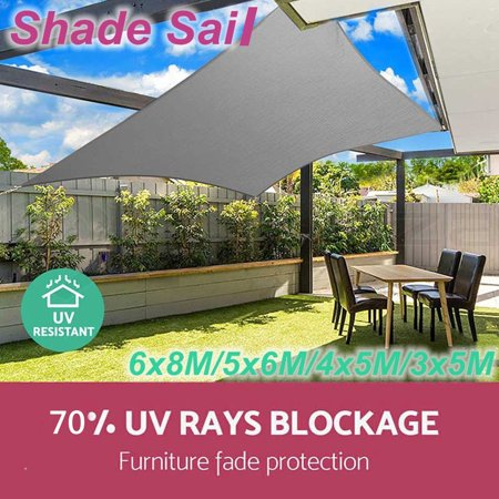 Sun Shade Sail Garden Patio Oxford Cloth Sunscreen Awning Canopy Screen Outdoor 70 Uv Block