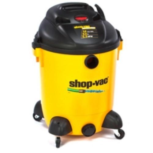 Shop-vac Wet/dry Vac With A Built-in Pump! - 4.10 Kw Motor - 11.50 A - 345 W Air Watts - 14 Gal - Yellow, Black (968-94-00)