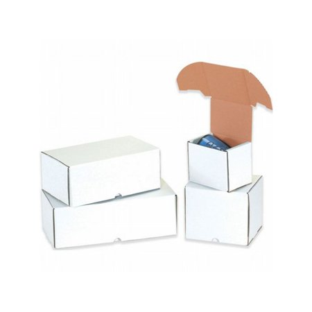 Box Packaging White Outside Tuck Mailer, (Outside Tuck Mailers)