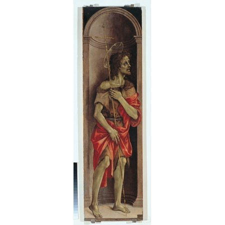 St John The Baptist Canvas Art - (18 x 24)