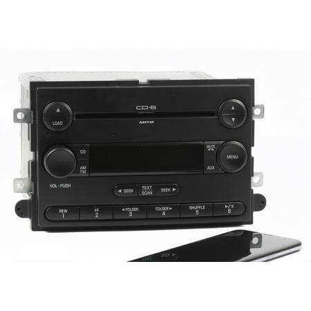 Ford Mercury Sedan (Ford Fusion & Mercury Milan 07 AM FM Radio 6 Disc CD w Bluetooth 7E5T-18C815-AB - Refurbished)