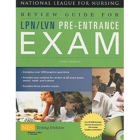 Review Guide for LPN/LVN Pre-Entrance Exam (Best Care Lpn Entrance Exam)