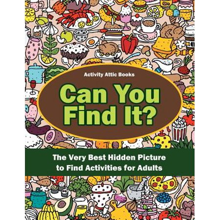 Can You Find It? the Very Best Hidden Picture to Find Activities for Adults - Halloween Activities For The Elderly