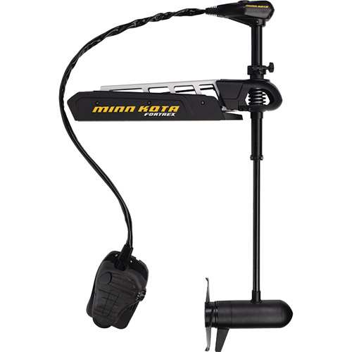 Click here to buy Minn Kota Fortrex 112 Bow-Mount Freshwater Trolling Motor, 112 lbs Thrust, 36V by Johnson Outdoors.