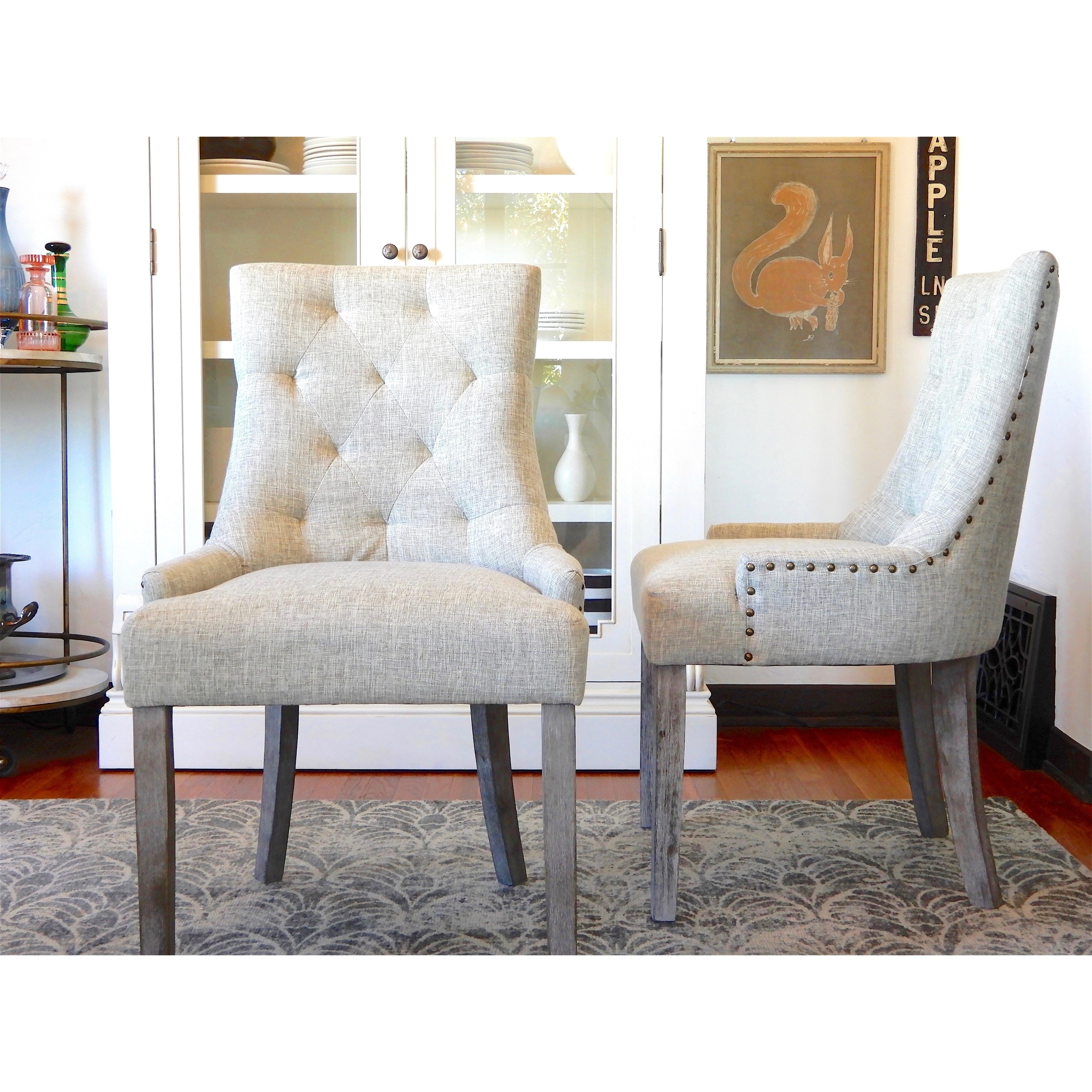 ANGELOHOME Angelo:HOME Ariane Parson Dining Chair (Set Of 2)   N/A
