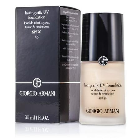 Giorgio Armani - Lasting Silk UV Foundation SPF 20 - # 4.5 Sand