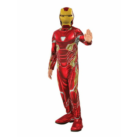 Marvel Avengers Infinity War Iron Man Boys Halloween Costume](Man Carrying Baby Halloween Costume)