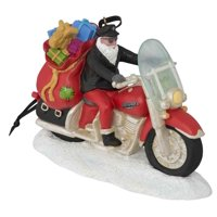 db4939806c41e Product Image Harley-Davidson Winter Custom Painted Sculpted Biker Santa  Ornament HDX-99131