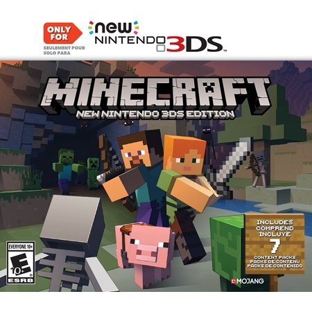 Mojang Refurbished Nintendo Minecraft: New Nintendo 3DS Edition