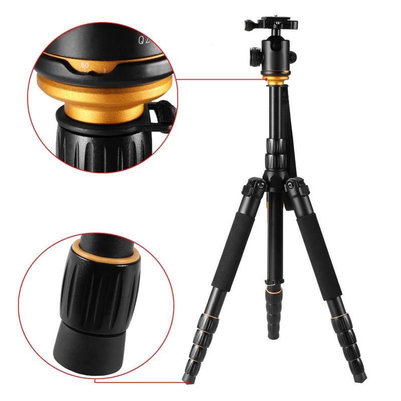 Portable Light WeightTripod Head Bracket Digital Photography Tourism Tripod BYE