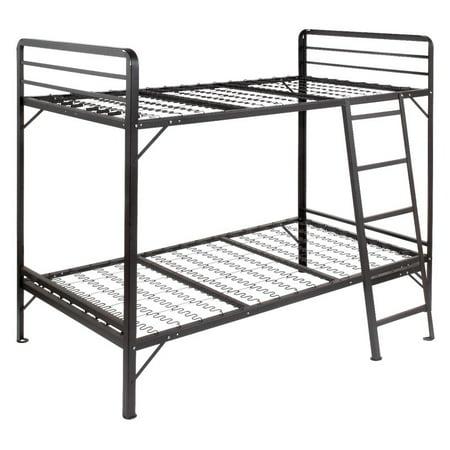Mantua Angle Iron Bunk Bed With No Sag Springs Walmart Com