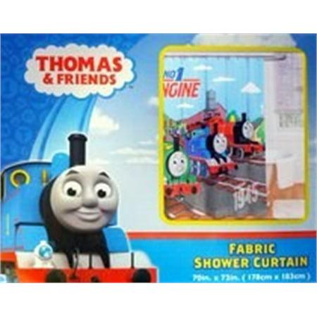 Thomas The Tank Engine Fun Shower Curtain