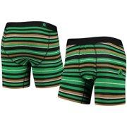 Boston Celtics Stance Pivot Boxer Briefs - Green
