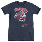 Tommy Boy Dinghy Mens Adult Heather Ringer Shirt