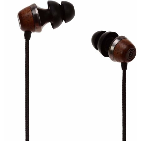 Symphonized ALN Premium Genuine Wood In-Ear Noise-Isolating Headphones/Earbuds/Earphones with Mic (Symphonized Nrg Earphones)