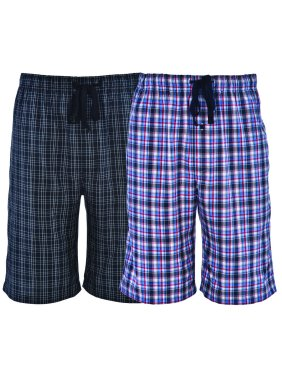 Hanes Men's 2-Pack Woven Stretch Sleep Jam Short