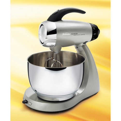Sunbeam Heritage Series Silver 4.6 Qt. Mixmaster Stand Mixer, 2354
