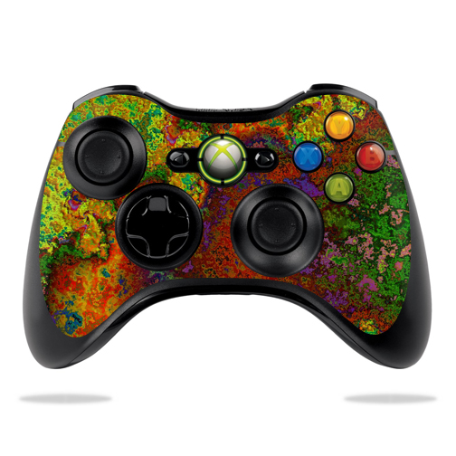 Protective Vinyl Skin Decal Cover for Microsoft Xbox 360 Controller wrap sticker skins Rust
