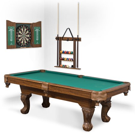 "EastPoint Sports 90"" Westford Billiard Pool Table with Dartboard & Cabinet"