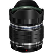 Olympus M.Zuiko Digital ED 8mm f1.8 Fisheye PRO MFT Lens 8/1.8 (Black)