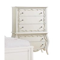 Chests of Drawer, One Size, Pearl White