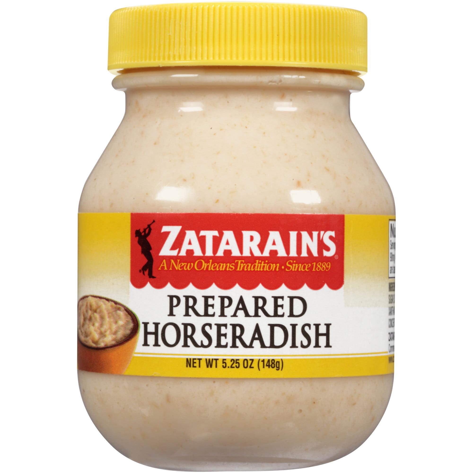 Zatarain S Prepared Horseradish 5 25 Oz Walmart Com Walmart Com