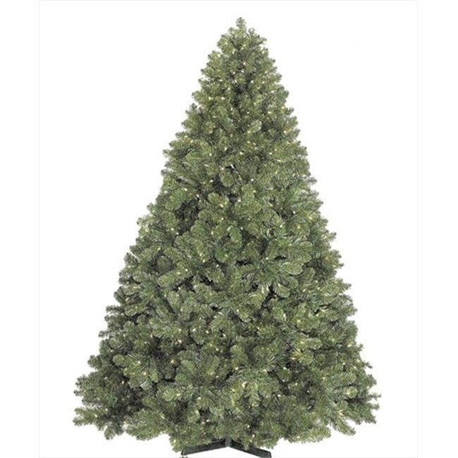 Queens of Christmas WL-TRNAT-7. 5-LWW 7. 5 ft.  Artificial Tree Lit with Warm White LED