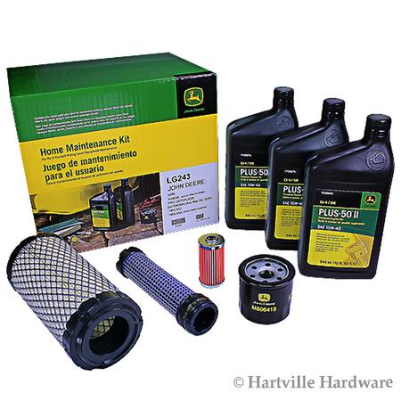 John Deere Diesel - John Deere LG243 Home Maintenance Kit X495 X595 4x2 4x4 HPX Diesel Gator