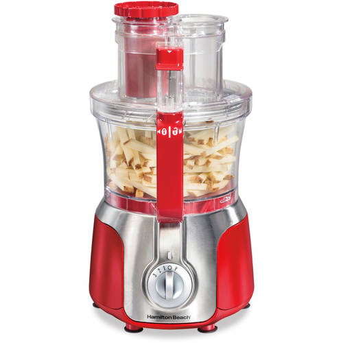 Hamilton Beach 525 Watt 3 Speed Big Mouth Deluxe 14 Cup Food Processor | Model# 70576