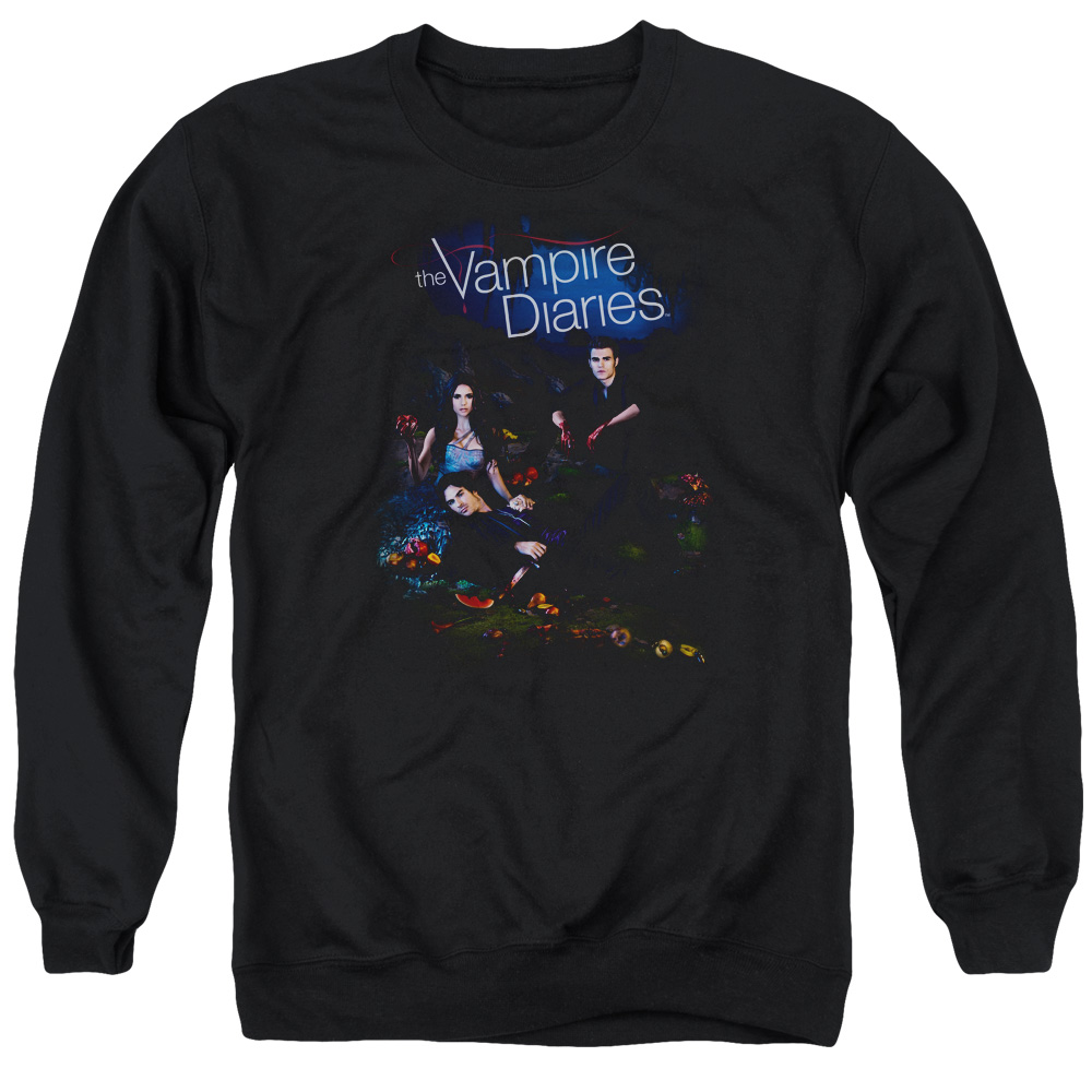 Vampire Diaries Tempted Mens Crewneck Sweatshirt