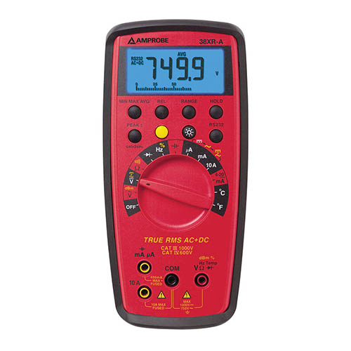 Amprobe 38XR-A True-RMS Autoranging Digital Multimeter wi...