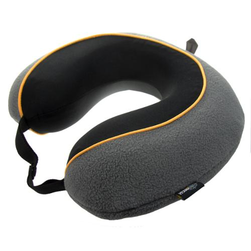 Lewis N Clark Memory Foam Travel Neck Pillow Firm Head Support Airplanes Car 507