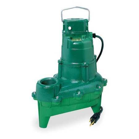 "Zoeller 4/10 HP 2"" Manual Submersible Sewage Pump 115V, N264"