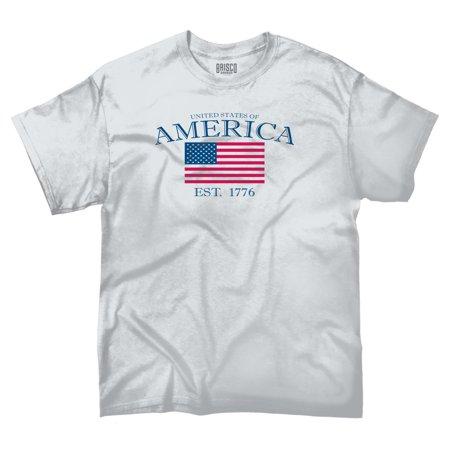 American Pride T Shirt  United States Of America Flag Usa