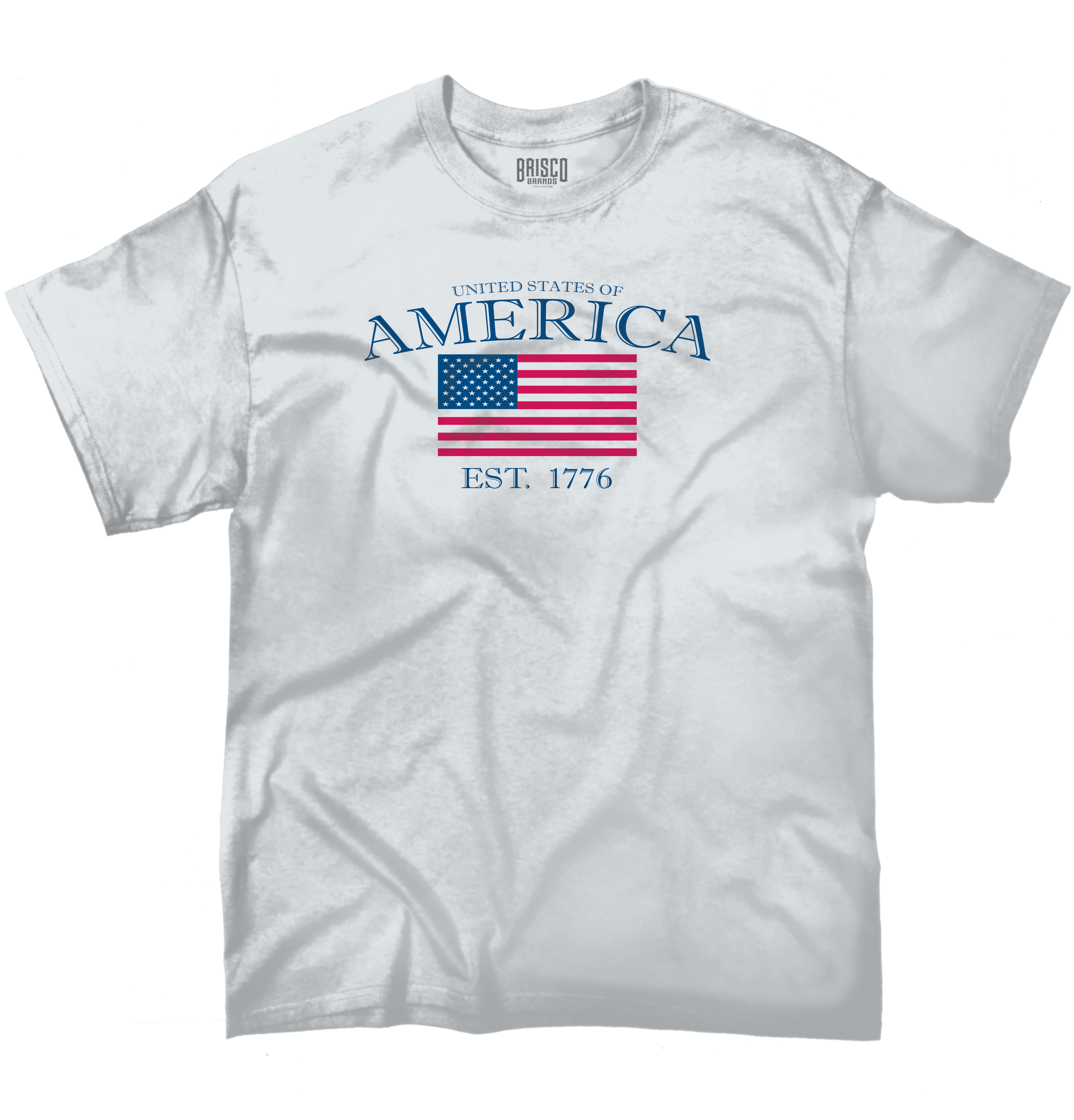 American Pride T Shirt  United States Of America Flag USA