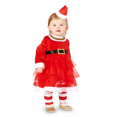 Christmas Diva Infant Costume - Infant Christmas Costumes