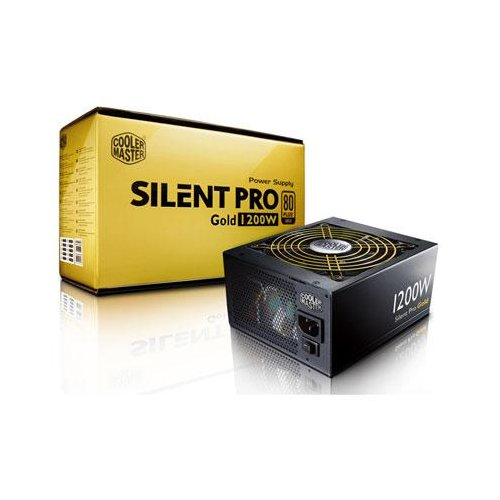 Cooler Master Silent Pro Gold 1200W 80 PLUS Gold Power Supply with Modular Cables (RSC00-80GAD3-US)