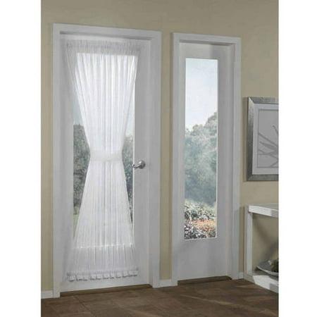 Firebird Door Panel (Better Homes & Gardens Crushed Voile Door Curtain Panel, 51x72)