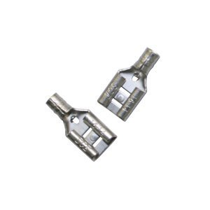 Electrical Disconnects - Superior Electric D63 16-14 AWG Non-Insulated Electrical Female Quick Disconnects 25/pack (large)